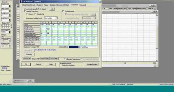 Use of Filters in Data Acquisition and the Clampfit Application